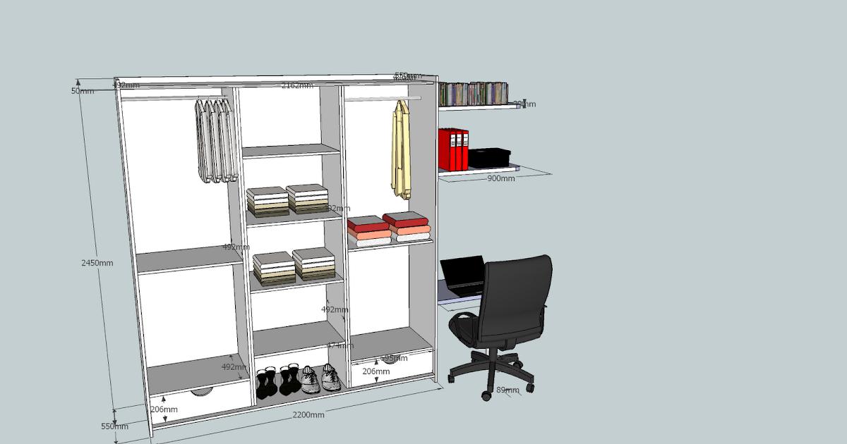 ch 39 ti menuisier dressing. Black Bedroom Furniture Sets. Home Design Ideas