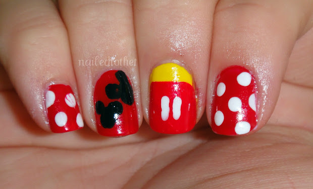 nailed t disney nail art