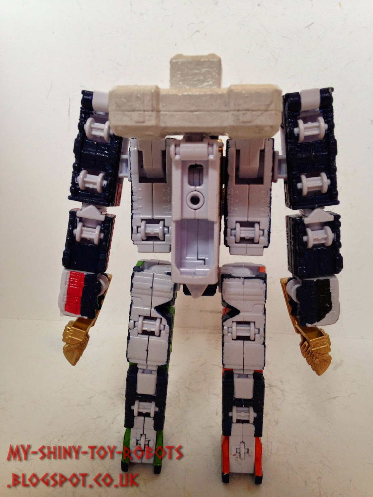 Robot mode back view