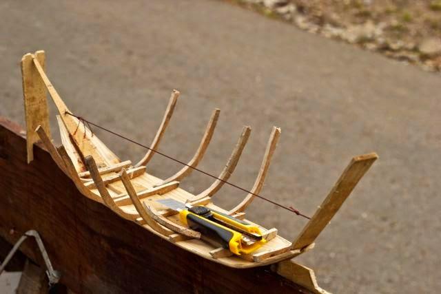 Construção do Barco Valboeiro