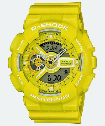 CASIO G-SHOCK BIG-CASE GA-110BC-9AJF Yellow Color