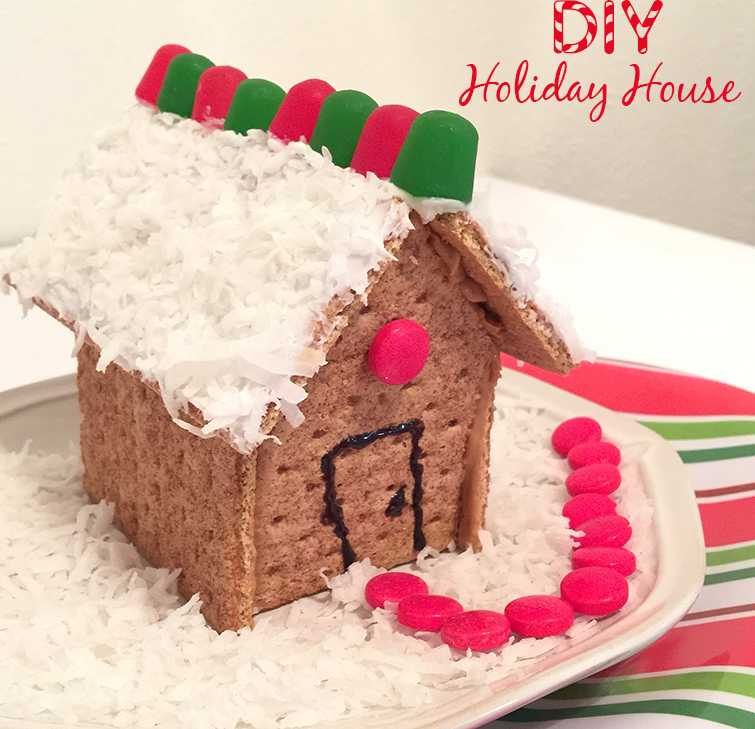 how to make a gingerbread house out of graham crackers