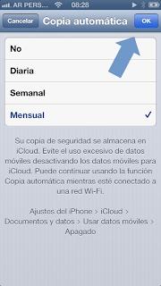 Backup en iCloud de mensajes y fotos de WhatsApp #3