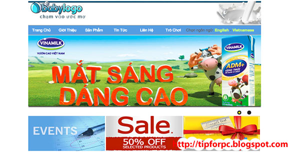 Source PHP Mã nguồn Website Shop Bán Sữa