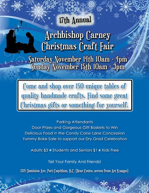 Archbishop Carney Craft Fair