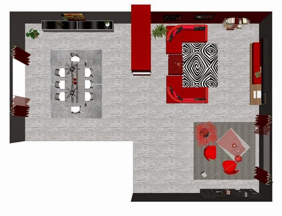Sfumature di design la zona pranzo in soggiorno - Zona pranzo design ...