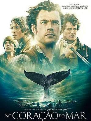 Filme Poster No Coração do Mar DVDSCR XviD & RMVB Dublado