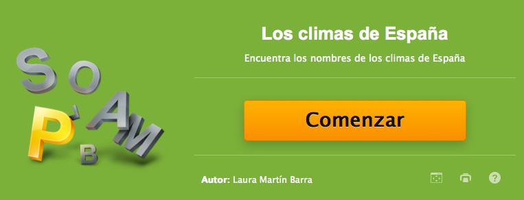 http://www.educaplay.com/es/recursoseducativos/1649268/los_climas_de_espana.htm