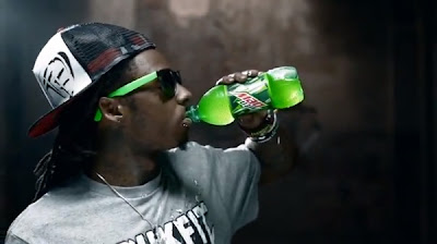 Lil Wayne Drinking Mountain Dew