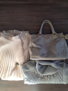 prada, prada bag, pink skirt, powder pink, powder pink skirt, pleated skirt, pleated maxi skirt, zara necklace, polo neck jumper, polo neck