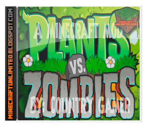 Plantas vs Zombies Mod Minecraft