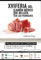 XVI FERIA DEL JAMÓN IBÉRICO DE BELLOTA DE LOS PEDROCHES. VILLANUEVA DE CÓRDOBA