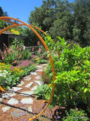 Orange Garden Accent