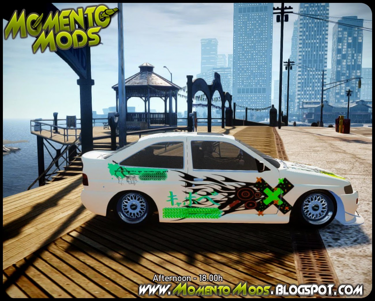 GTA IV - Ford Escort RS Cosworth 1992