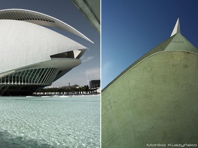 Walencja, Hiszpania, Palau de les Arts, Monika Kuszyńska, fotografia