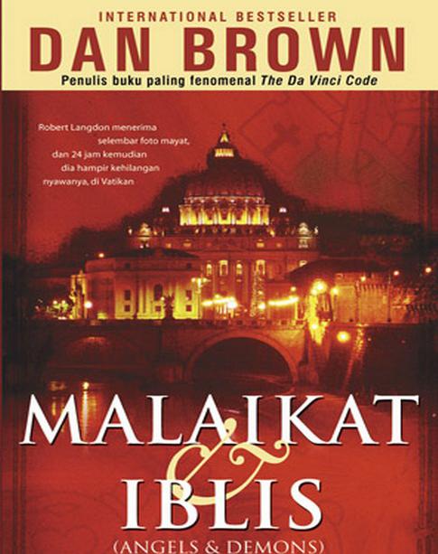 Download Novel Gratis Malaikat dan Iblis -  Dan Brown