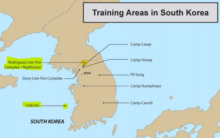 Disaster wise nightmare range south korea the border with north korea is the gray line on the map just above nightmare range on an island in the yellow sea south southwest of nightmare is chik do gumiabroncs Choice Image