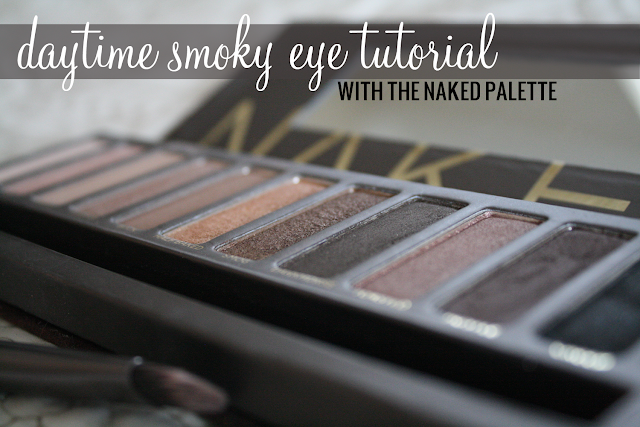 daytime smoky eye tutorial with the naked palette
