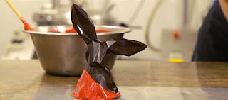 Chocolates de Pascua con Formas Geometricas