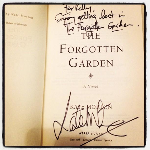 Belle Of The Literati Kate Morton Book Tour