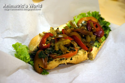 Original Vegetarian Sandwich at Cheese Steak Shop