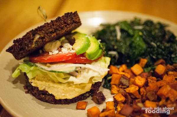 Quinoa Burger True Food Kitchen