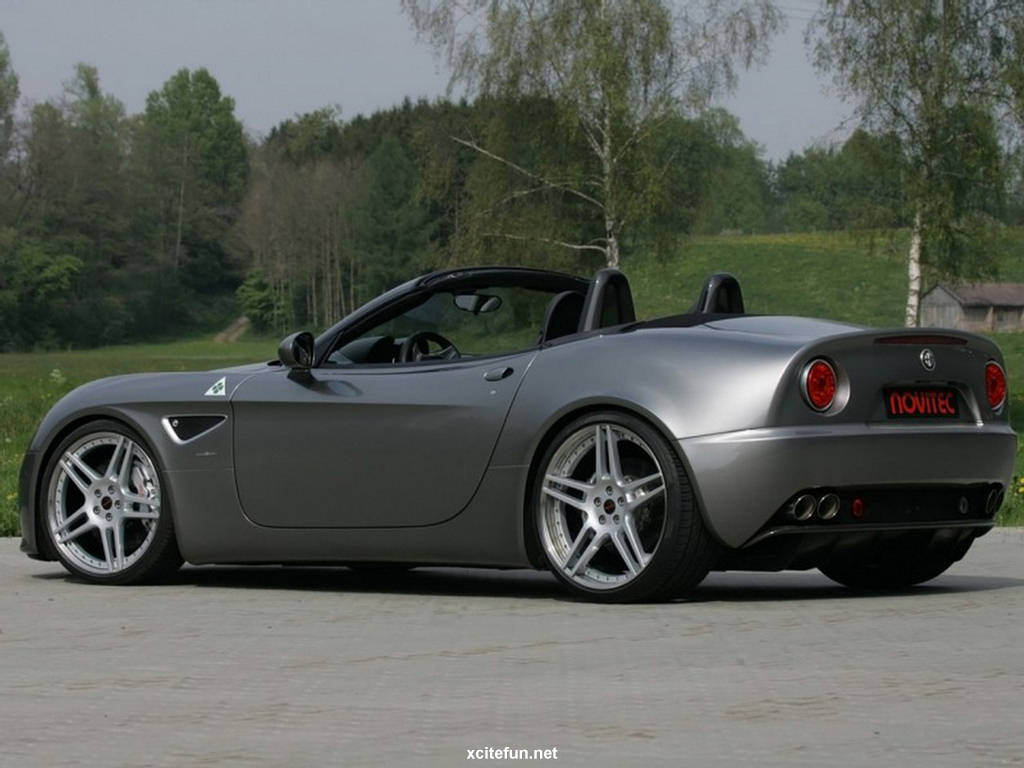 alfa romeo 8c spider car wallpapers 2011