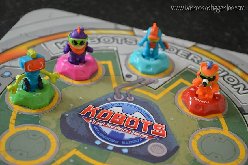 Boo Roo and Tigger Too: Kobots - Dual Action Game Review