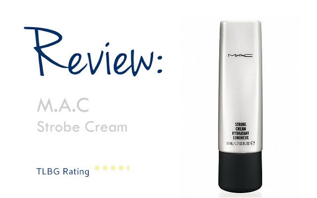 Review: MAC Strobe Cream