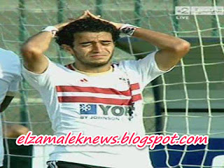 عمر جابر إبراهيم لاعبو وسط الزمالك الدولي