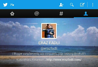 Segmen ERAZ FADLI bersama Twitter @erazfadli