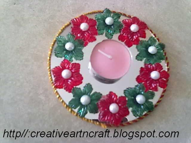 anu s art and crafts diya decoration