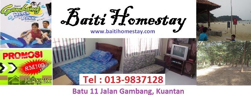 Dari RM 100 ~ RM 200 pernight Baiti Homestay at Jalan Gambang Kuantan