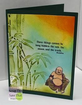 Budda Belly Card