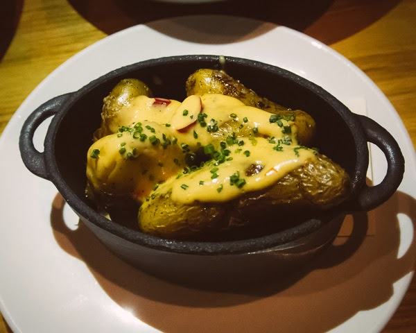 Fingerling potatoes at  Rolf and Daughters restaurant in Nashville Tennessee