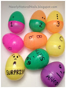 I just ordered these plastic Easter eggs in bulk on Amazon. preschool easter eggs matching game diy