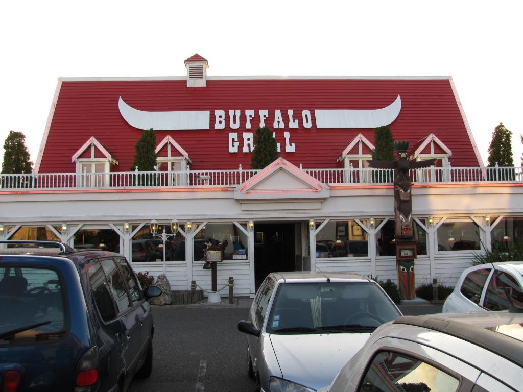 Une carte postale de lundi 27 buffalo grill - Buffalo grill marseille la valentine ...