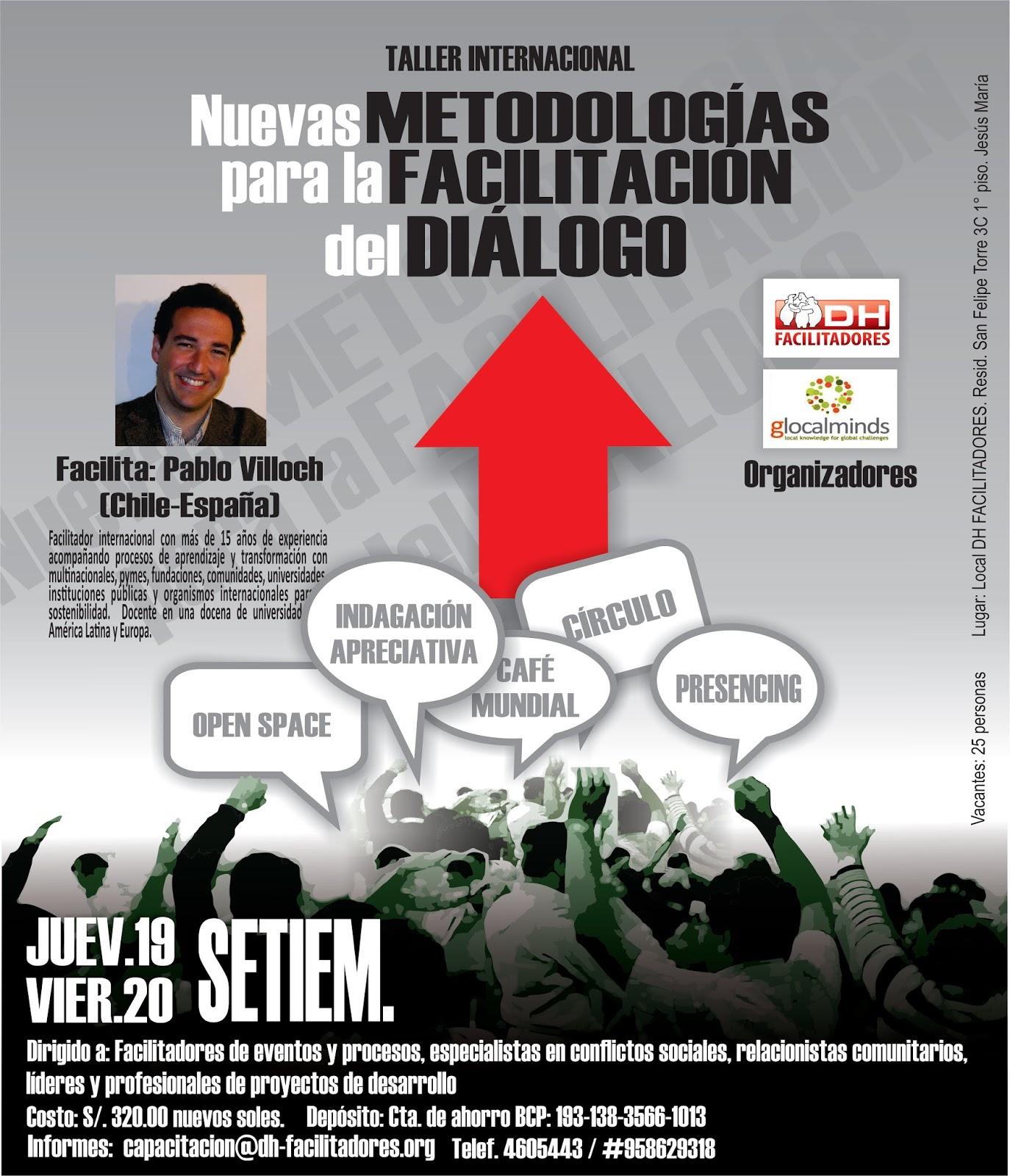 Metodologías para la facilitación del diálogo