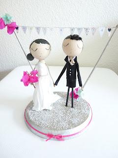 novios pastel personalizados, figuras tarta, muñecos pastel, novios, novios originales, novios con encanto, wedding cake, topper cake, cake topper, bride, groom, novia, novio, rosa clará, vestido novia, muñecos pastel personalizados, tarta boda, pastel nupcial
