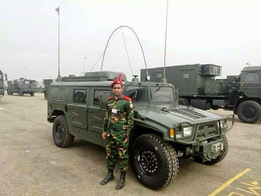 Bangladesh Army EQ 2050 Command Vehicle