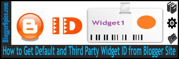 widget id