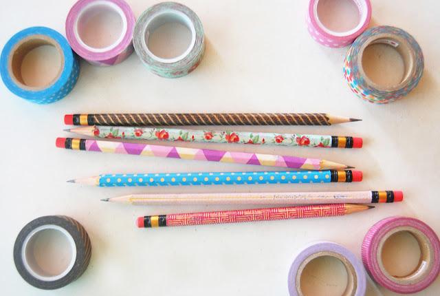 鉛筆がこんなに可愛くなるなんて!鉛筆アレンジ集