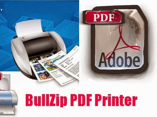 Cetak Semua File Dokumen Anda ke PDF dengan Bullzip PDF Printer