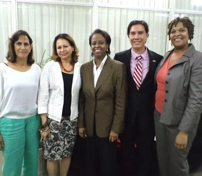 Representante do Departamento de Estado dos EUA visita SEEC