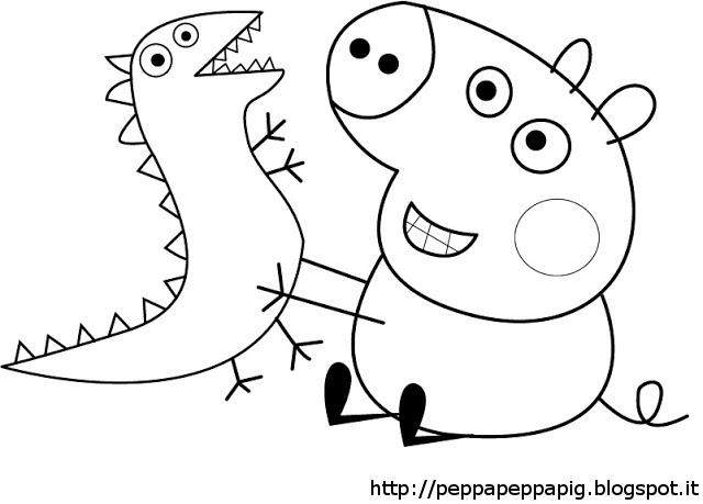 Il Blog Di Peppa Pig Disegni Da Colorare