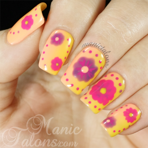 Bright Florals with Bio Seaweed Gel