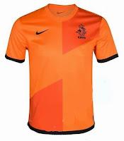Euro 2012 Netherlands Home Jersey