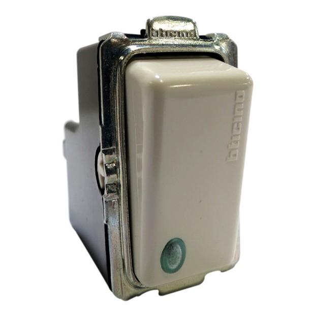 Bticino interruptor taco con luz piloto ferreteria - Tipos de interruptores de luz ...