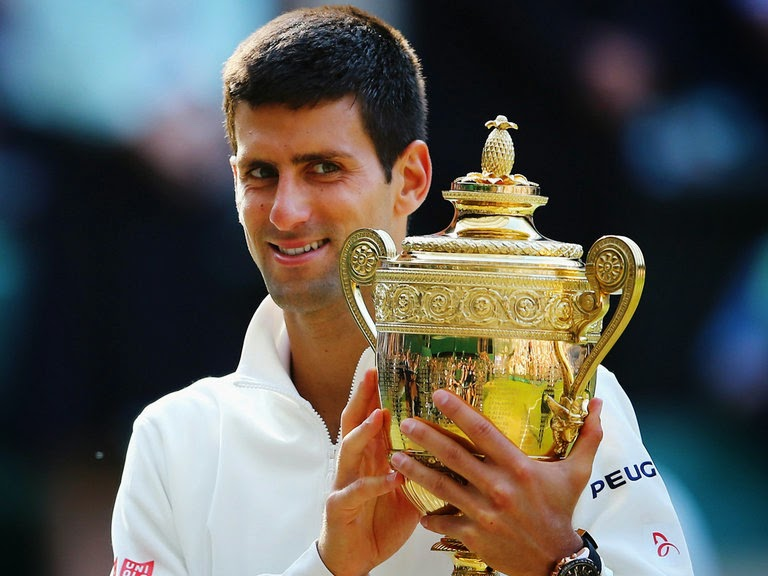 Novak Djokovic Champion Wimbeldon 2014