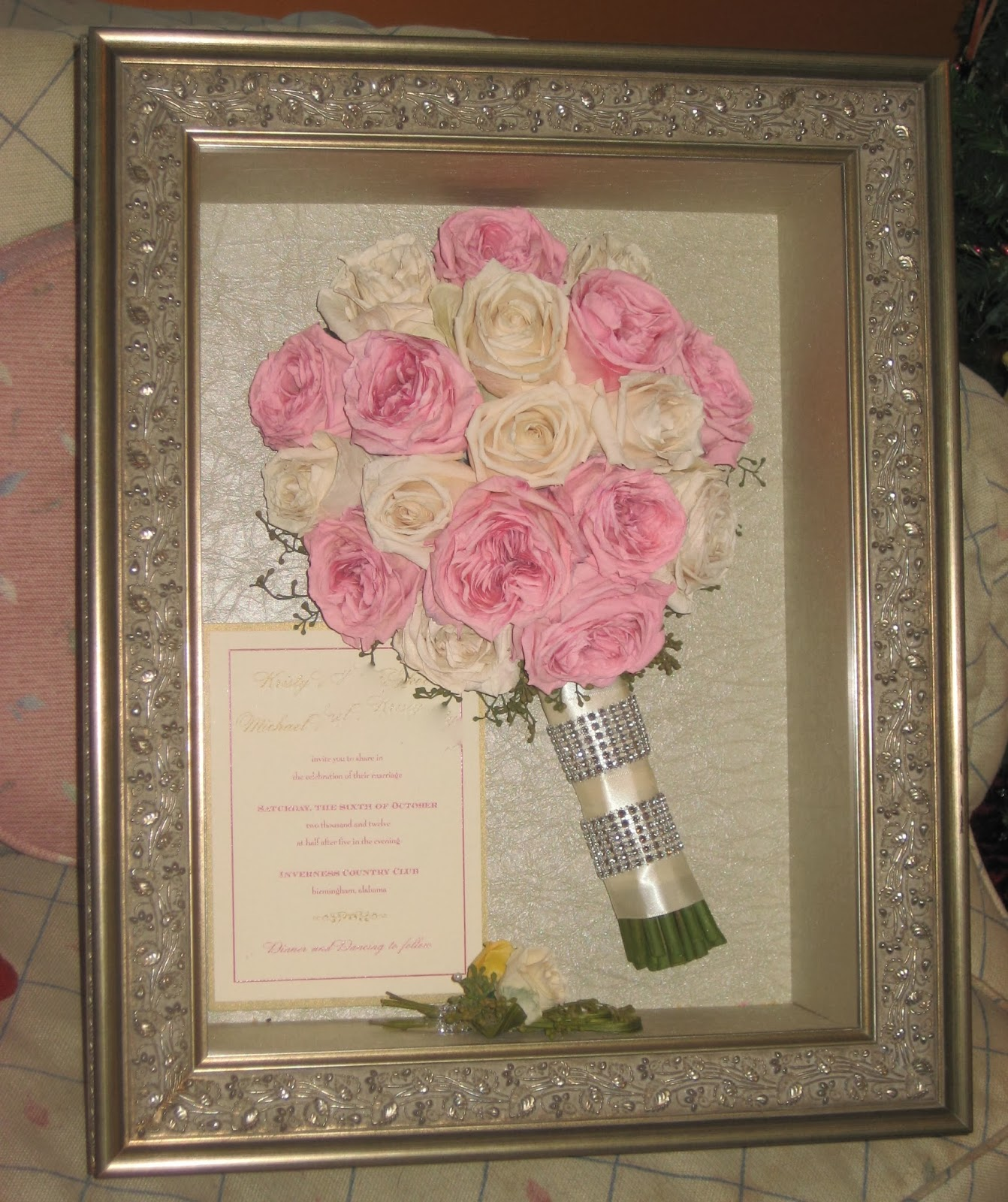 KONABARBIE: Wedding Shadow Box